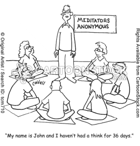 Need a meditation support group? :)