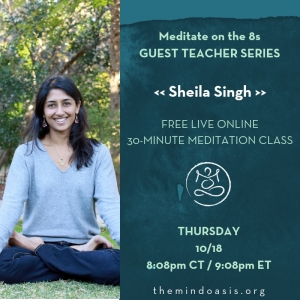 Meditate on the 8s_GUEST TEACHER